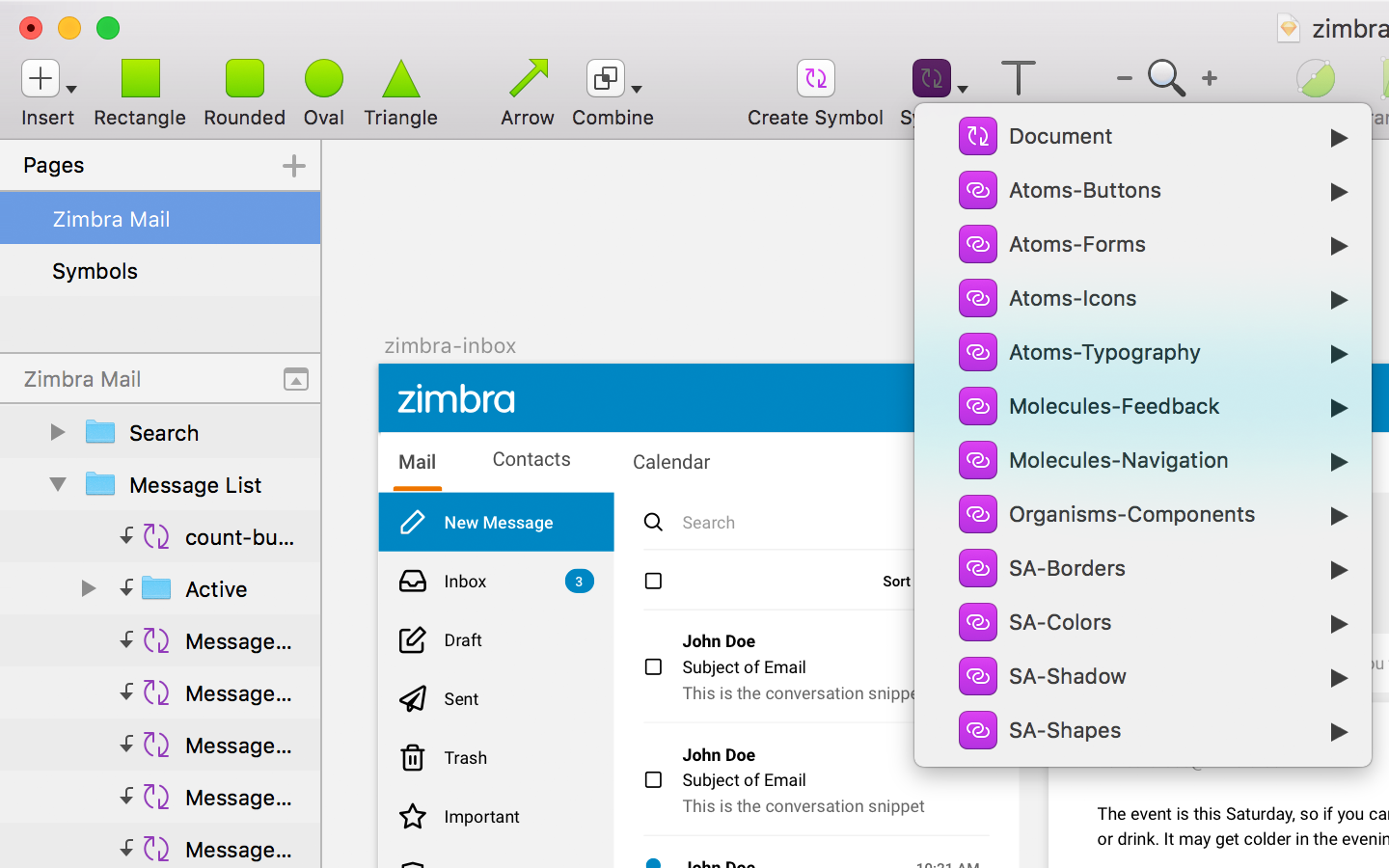 Zimbra | Timothy Stegner - Product Design + Research +